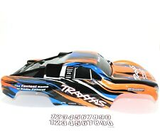 Traxxas Slash Body Orange Blue Black White Truck Decal 2wd VXL XL5 1/10