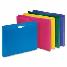 Sparco File Folder, Poly, Letter, 10-Pack, Assorted (SPR44435)