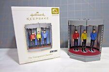"2006 Hallmark QXI6296 ""Star Trek --The Transporter Chamber"" Ornaments"