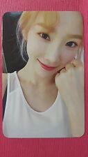 TAEYEON MY VOICE Official PHOTOCARD #4 1st Album Girl's Generation SNSD 태연