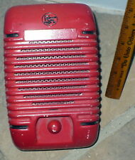 VINTAGE DRIVE IN MOVIE SPEAKER / PROJECTED SOUND / PLAINFIELD IND / WORKING
