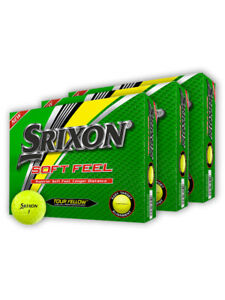Srixon Soft Feel Golf Balls - 3 Dozen Yellow 2020 -  Mens