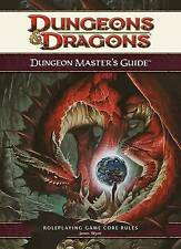 Dungeons & Dragons D&D Dungeon Master's Guide 4.0 Ed Roleplaying Game Core Rules