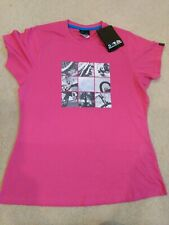 Dare 2b Ladies t.shirt in Pink with Cycling Print Size 14