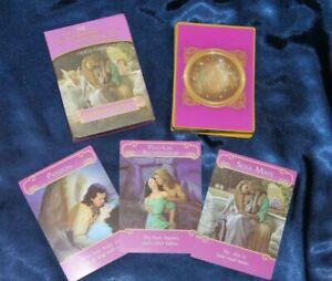 "THE ROMANCE  ANGELS Oracle Cards Doreen Virtue Size 4"" x 3""  *READ DESCRIPTION*"