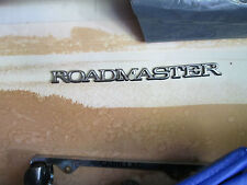 Buick Roadmaster Sign