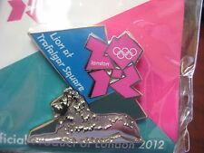 London 2012 Olympic Pin - Lion at Trafalgar Square