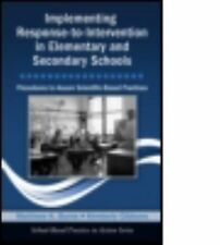 School-Based Practice in Action Ser.: Implementing Response-to-Intervention...