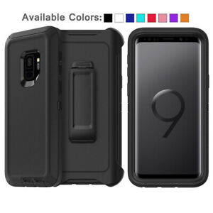 For Samsung Galaxy S9 +Plus Case Cover Shockproof Series Fits Defender Belt Clip