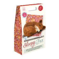 Sleepy Fox Needle Felting Needles High Density Sponge Pipe Cleaners and FUL
