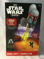 Uncle Milton Star Wars Science Boba Fett Launch Lab Air Powered Rocket w/ Box