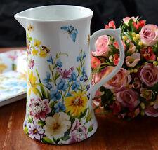 Creative Tops Katie Alice English Garden Shabby Chic Tall Porcelain Jug