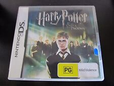 NINTENDO DS.....HARRY POTTER & the order of phoenix with instructions...PG rated