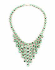 GEORGE J. LOVE Women's Necklace Designer Fashion Jewelry Light Green