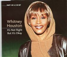 WHITNEY HOUSTON | It's not right but it's OK | Very good condition | Music cd