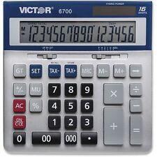 Victor 6700 Large Desktop Calculator 16-Digit LCD