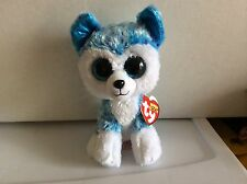 "Ty Beanie Boo SKYLAR the Husky Dog 6"" justice Exclusive"