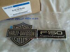 FORD 2L3Z-16720-AA HARLEY DAVIDSON 02 03 F-150 SUPERCHARGED RH EMBLEM ORIGINAL