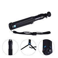 Handheld Tripod Monopod Adapter Extendable Selfie Stick for Phone GoPro Camera