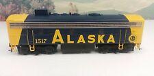 Bowser HO Scale Executive Line ALASKA EMD F7B #1517 DCC Sound Installed