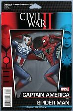 CIVIL WAR II  AMAZING SPIDER-MAN #1 (2016) 1ST PRINT ACTION FIGURE VARIANT CVR