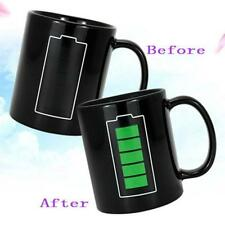Heat Changing Mug Color Cup Coffee Sensitive Magic Hot Reactive Cold Ceramic r6