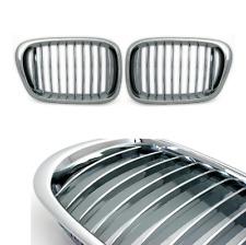 2 GRILLE DE CALANDRE CHROME BMW SERIE 5 E39 PHASE 1 ET 2 1995 A 5/04
