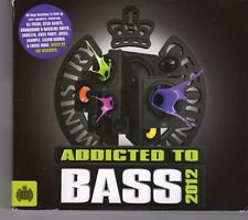 (GJ62) Ministry Of Sound, Addicted To Bass - 2012 CD