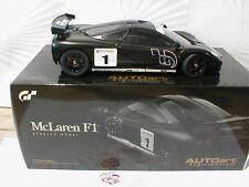 "AutoArt 81040 # McLaren F1 Stealth Model "" Gran Turismo GT 5 2010 "" 1:18  TOP !!"