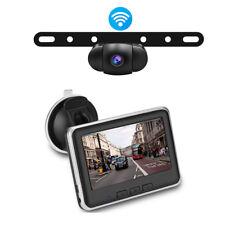 Wireless Car Liense Plate Backup Camera & Monitor Rear View Monitor /Cams Kits