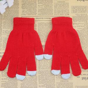 Men Women Touch Screen Gloves Knitting Warmer Winter Outdoor Mobile Phone Gloves
