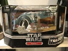 Star Wars Original Trilogy Collection Slave 1 OTC with Boba Fett MISB Rare MIP