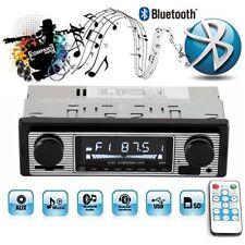 Bluetooth Retro-Auto-Radio Mp3-Player Stereo Usb Aux Classic Audio In-Dash 12V
