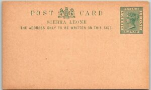 GP GOLDPATH: SIERRA LEONE POSTAL CARD MINT _CV783_P21