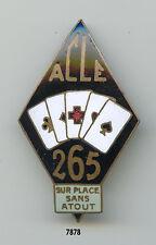 Insigne santé , Ambulance Chirurgicale Légère d'Etapes 265