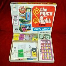 Vintage Milton Bradley THE PRICE IS RIGHT Game Near Complete w/Instructions 1974