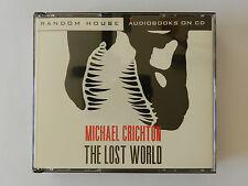 4 CD Michel Crichton The Lost World Englisch