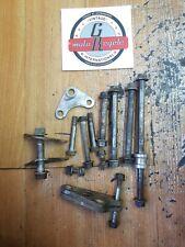 Honda XL600R 1984 engine motor mount mounting bolt bracket hanger plate flange