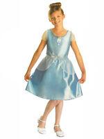 Child Disney Cinderella Outfit Fancy Dress Costume Book Week Princess Kids Girls