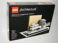 Lego ® 21004 Architecture solomon r. guggenheim museum New OVP misb NRFB