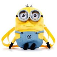 "DESPICABLE ME 2 MINION DAVE BACKPACK 13"" BRAND NEW GREAT GIFT"