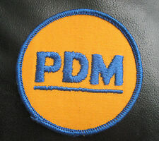 PDM EMBROIDERED SEW ON PATCH LETTER INITIALS