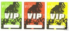 LENNY KRAVITZ/BLACK CROWES - BACKSTAGE PASSES-3 SELF ADHESIVE CLOTH PATCHES