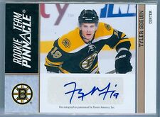 TYLER SEGUIN / TAYLOR HALL 2010-11 PINNACLE TEAM RC ROOKIE AUTO AUTOGRAPH SP/50