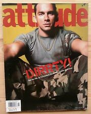 ATTITUDE #105 JAN 2003 UK CRISTIAN SOLIMENO MARC ALMOND SUPERGRASS KELLY ROWLAND