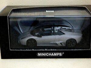 Minichamps Lamborghini Reventon roadster 2010 matt grey REF 400 103960