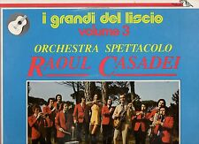 RAOUL CASADEI ORCHESTRA disco LP 33 GRANDI DEL LISCIO VOL. 3 made in ITALY 1980