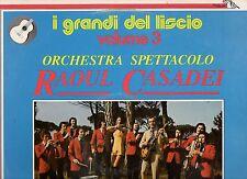 RAOUL CASADEI ORCHESTRA disco LP 33 GRANDI DEL LISCIO VOL. 3 made in ITALY 1980