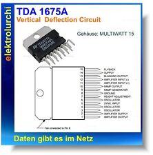 TDA1675A - Vertikalablenkung , IC TDA 1675 A, MULTIWATT 15