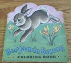 """*Vintage Saalfield Publishing """"Benjamin Bunny"""" Color Book Unused, Copyright 1945"""